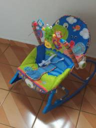 Cadeira de balanço vibratória muito nova!!