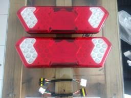 Par de lanterna da guerra em LED Bivolt