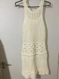 Vestido em tricô