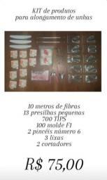 KIT de produtos para alongamento de unhas