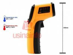 Termometro Digital Laser Infrared Pistola Sem Contato Dt8380