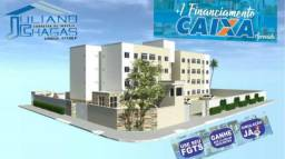 Apartamento à venda com 2 dormitórios em Parque potira (jurema), Caucaia cod:JCAP20011