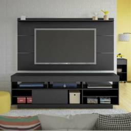 Rack+painel luxo TV até 55 rack com rodízios entrega grátis novos na caixa