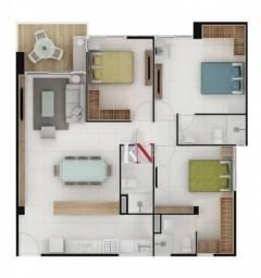 Apartamento na Beira-Mar Cabo Branco, apto c/ 3 quartos, 2 suítes, 91 m²