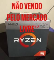 VENDO AMD Ryzen 5 2400g (1 ano de uso)