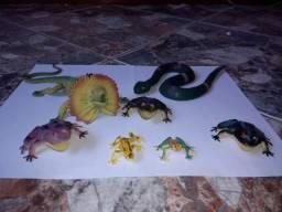 Lote de brinquedos de animais