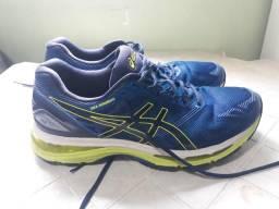 Tênis asics gel nimbus 19 - masculino - azul -43