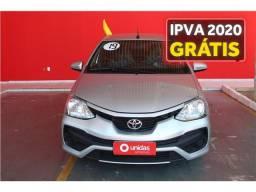 Toyota Etios 1.3 x 16v flex 4p manual - 2019