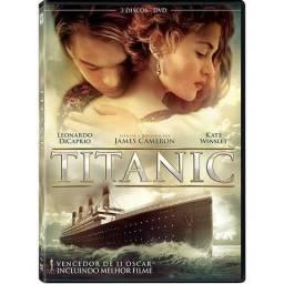 DVD Titanic Dublado(pouco usado, sem manchas e riscos)