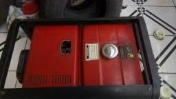 Gerador de Energia à Diesel Monofásico 5,5Kva 110/220V BD-6500