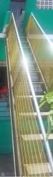 Escada para acesso geral toda em (AÇO INOX) reforçada