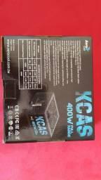 Fonte kcas 400w 80 plus white