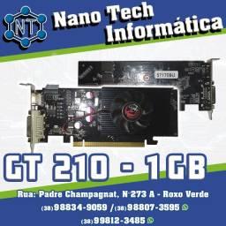 Placa de vídeo com HDMI - Gt 210 - 1 Gb