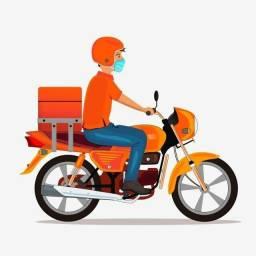 Preciso entregador com moto propria marechal