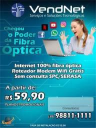 Fibra optica sem consulta spc/serasa
