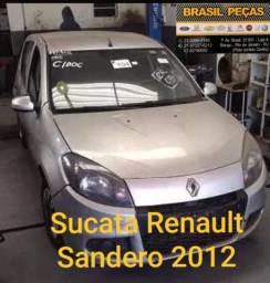Venda de Peças Renault Sandero 2012