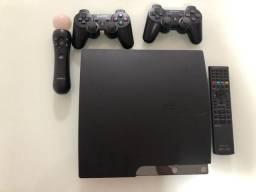 PS3 completo semi novo (ler descrição)