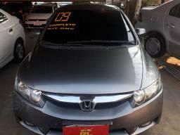 Civic LXS 1.8 - 2009- compl/gnv entr+48xR$489,00 com a primeira para 60 dias