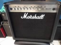 Amplificador p/ guitarra Marshall MG 50cfx (Mixer Instrumentos Musicais)