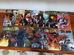 GIBIS- Diversos- Spawn- H. Aranha, Superman ...