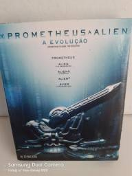 Box Bluray Alien+Prometheus