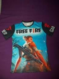 Camisa  Free Fire Original,valor R$70,00.
