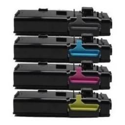Toner Xerox Phaser 6600/6605 Compatível - Kit Com As 4 Cores