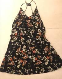 Vestido Curto Floral Animale - Tamanho 36