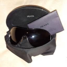 Óculos Prada máscara preto.