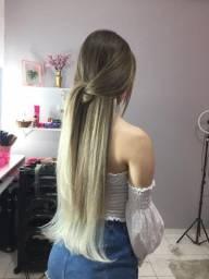 Mega hair cabelo russo natural