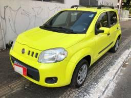 Fiat Uno Vivace Completo 1.0 Flex 4 Portas Amarelo 2011/12