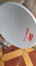 Antena Sky e Claro