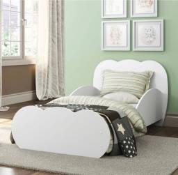 Mini cama Nuvem + colchão ortobom nova