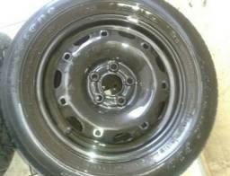 Troco uma roda aro 14 por aro 15
