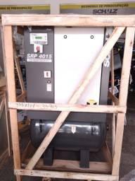 Compressor Parafuso Schulz SRP 4015 Lean 15HP 9BAR Trifásico