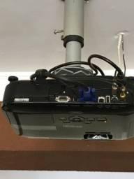 Projetor Epson S12+ ( tela e pedestal separadamente)