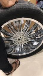 Roda 22 com pneu