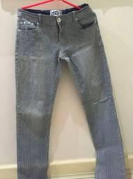 Calça Jeans Listrada