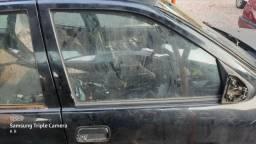 Vidro de porta dianteiro direito vectra 94