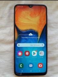 Samsung a20 novo vermelho