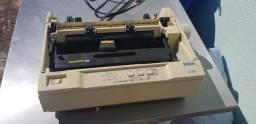 Impressora matricial LX-300 funcionando