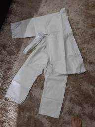 Kimono Infantil Torah Judo/Jiu-Jitsu Combate - Branco - Nunca Usado