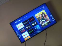 Smart TV AOC semi nova vendo ou troco