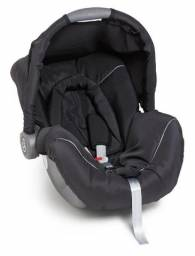 Vendo- Bebê conforto Galzerano Piccolina Preto/Cinza (estado de novo)