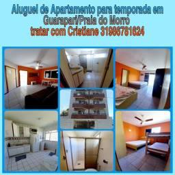 Apartamento para temporada na Praia do Morro