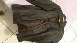 Jaqueta de couro nova