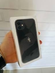 Vendo iPhone 11 Preto - 64Gb - NOVO!