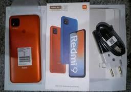 Xiaomi redmi 9 novo na caixa liguei só pra testar