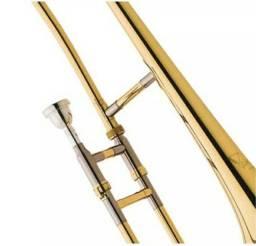 Trombone De Vara Sib Laqueado