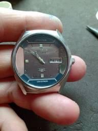 Relógio Citizen crystron (máquina trocada )